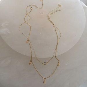 Anthropologie necklace 2 layers brand new